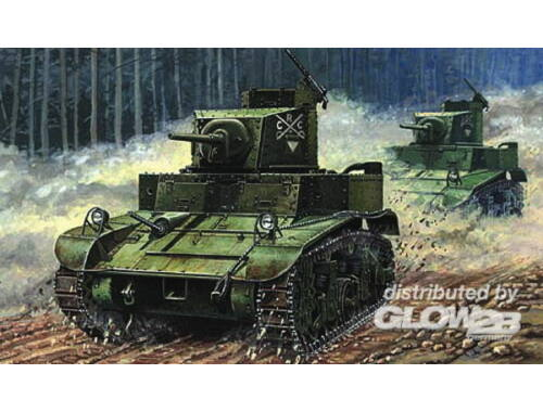 Mirage Hobby M3 US Light Tank 'First Hundred' 1:72 (72670)