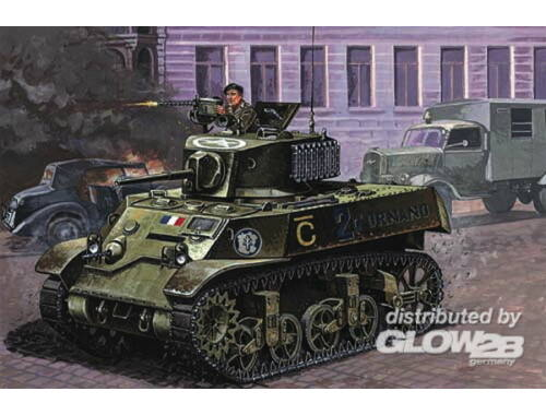 Mirage Hobby M3A3 'Liberation of Paris' 1:72 (72676)