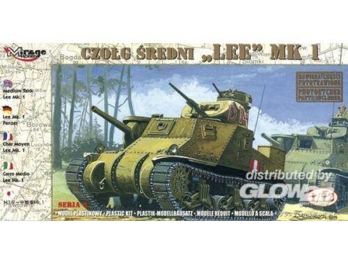 Mirage Hobby Medium Tank Lee Mk. I 1:72 (72802)