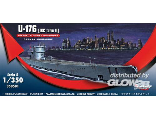 Mirage Hobby German Submarine U-176 (IXC turm II) 1:350 (350501)