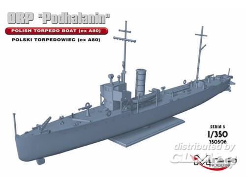 Mirage Hobby ORP PODHALANIN Polish Torpedo Boat(exA80 1:350 (350506)
