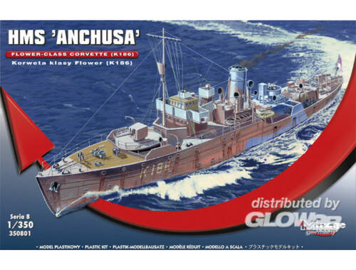 "Mirage Hobby HMS ""Anchusa"" Flower-Class Corvette K186 1:350 (350801)"
