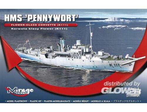"Mirage Hobby HMS ""PENNYWORT""Flower-Class CorvetteK111 1:350 (350804)"