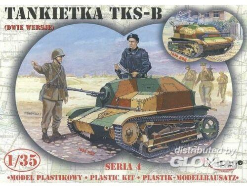 Mirage Hobby TKS-B Tankette 1:35 (354013)