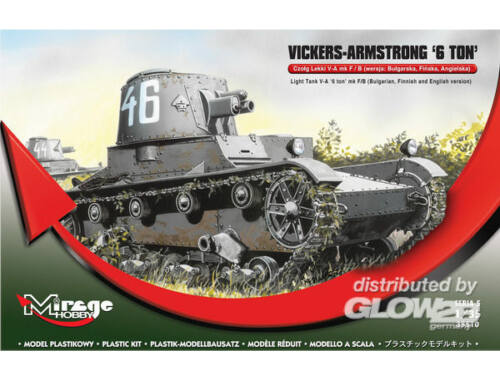 Mirage Hobby Vickers Armstrong 6ton mk F/B Light tank 1:35 (355010)
