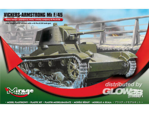 Mirage Hobby Vickers-Armstrong Mk F/45 1:35 (355011)