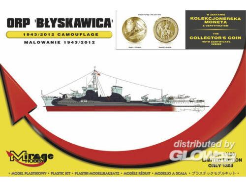 Mirage Hobby ORP 'Blyskawica' 1943/2012 Camouflage 1:400 (400001)
