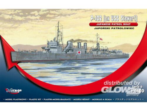 Mirage Hobby P-102 (ex USS Steward) Jap. Patr. Boat 1:400 (400611)