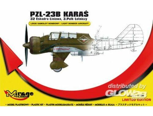 Mirage Hobby PZL-23B Karas Recon. Bomber 32thLF/3.AR 1:48 (480001)