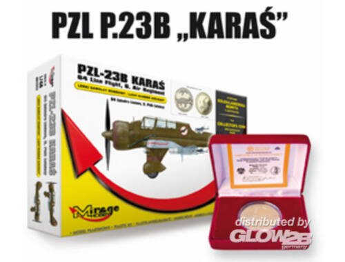 Mirage Hobby PZL-23B Karas Light Bomber 64th Line 1:48 (480002)