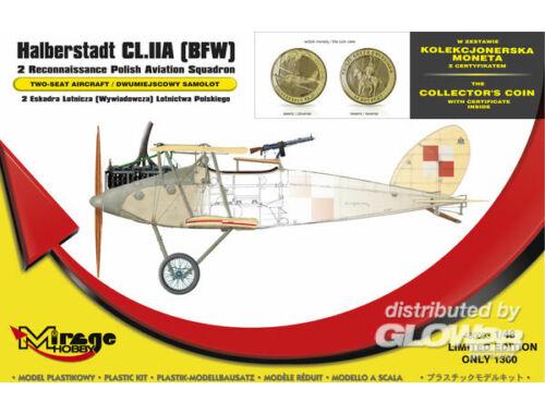 Mirage Hobby Halberstadt CL.IIA(BFW) 2 Recinnais.poli 1:48 (480003)