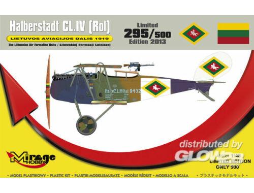 Mirage Hobby Halberstadt CL.IV(Rol) LIETUVOS 1919 1:48 (480004)