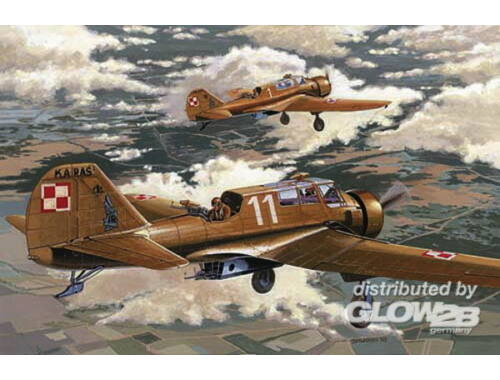 Mirage Hobby PZL - 23 A KARAS (early version) 1:48 (481303)