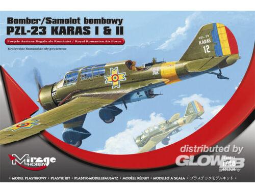 Mirage Hobby Bomber PZL-23 KARAS I   II 1:48 (481304)