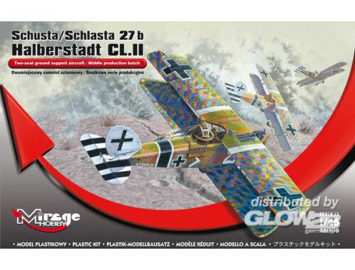 Mirage Hobby Schusta/ Schlasta 27b Halberstadt CL.II 1:48 (481308)