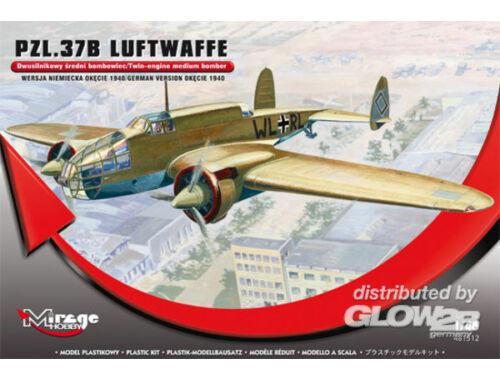 Mirage Hobby PZL.37B Luftwaffe Germ.Vers. Okecie 1940 1:48 (481312)