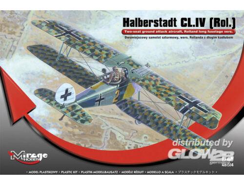 Mirage Hobby Halberstadt CL.IV(Rol)Twi-seat ground su 1:48 (481314)