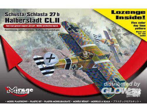 Mirage Hobby Schusta/Schlasta 27b Halberstadt   color 1:48 (481401)