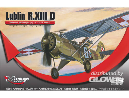 Mirage Hobby Lublin R.XIII D (Liaison plan) 1:48 (485001)