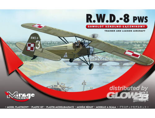Mirage Hobby R.W.D.-8 (PWS) Trainer and Liaison Airc. 1:48 (485002)