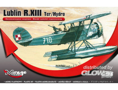 Mirage Hobby Lublin R.XIII Ter/Hydro Rec. seaplane 1:48 (485003)