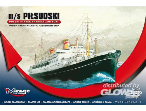 Mirage Hobby Pol. Trans-Atlantic Pas. Ship Pilsudski 1:500 (500601)