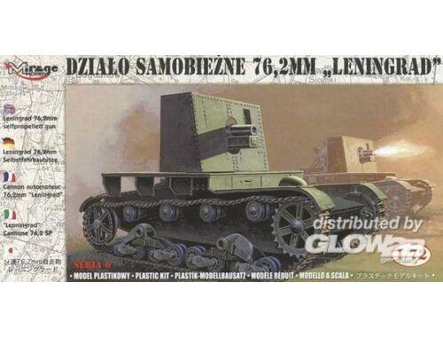 Mirage Hobby Selbstfahrhaubitze 76,2 mm Leningrad 1:72 (726027)