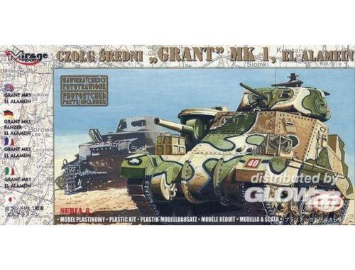 Mirage Hobby Panzer Grant Mk. I El Alamein 1:72 (728004)