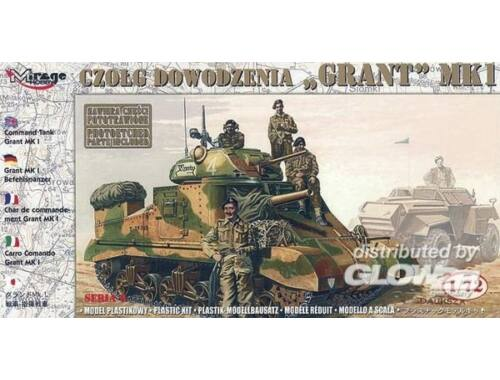 Mirage Hobby Kommandopanzer Grant Mk. I 1:72 (728005)