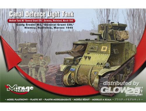 Mirage Hobby Medium Tank M3 'General Grant' 1:72 (729001)