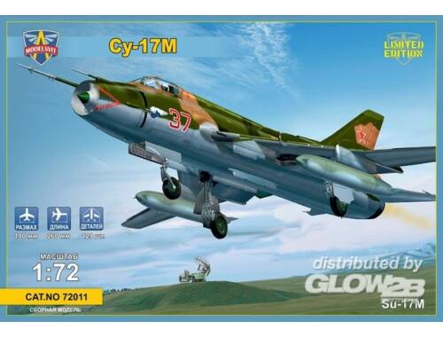 Modelsvit Sukhoi SU-17M Soviet fighter-bomber 1:72 (72011)