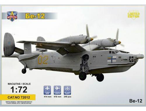 Modelsvit Beriev Be-12 Soviet amphibious aircraft 1:72 (72012)