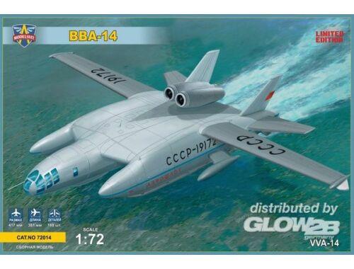 Modelsvit VVA-14 Soviet experimantal hydroplane 1:72 (72014)