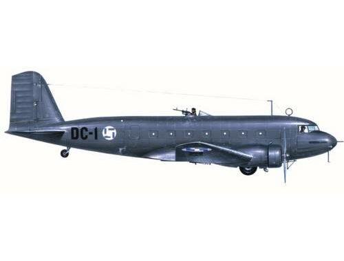 MPM Douglas DC-2 Finland   Espana Bomber 1:72 (72527)