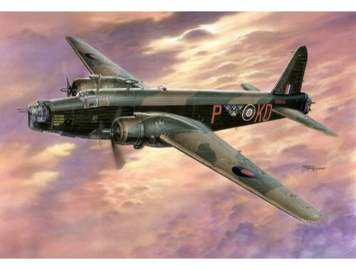 MPM Vickers Wellington Mk.III ''Hercules Engines'' 1:72 (72542)