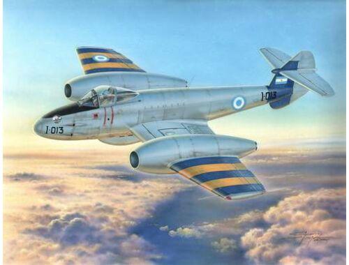 MPM Gloster Meteor Mk.4 Fuerza Aerea Argent. 1:72 (72554)