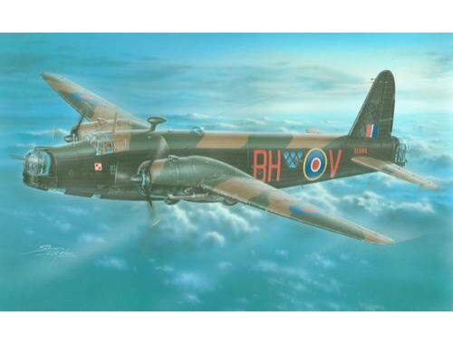 MPM Wellington Mk. IV R-1830 Engines 1:72 (72555)