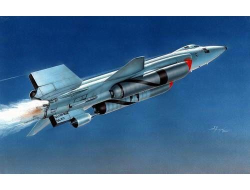 """MPM X-15A-2 """"with Dummy Scramjet"""" 1:72 (72562)"""