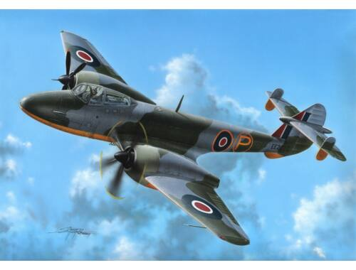 """MPM Gloster Meteor Trent""""First Turbop.Fighte 1:72 (72574)"""