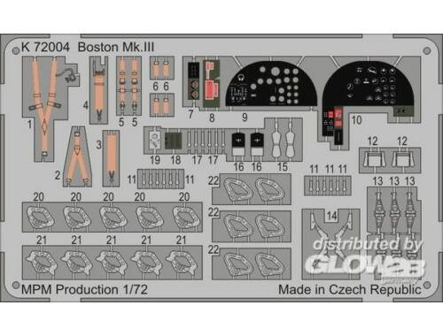 MPM Boston Mk.II for MPM 72559 1:72 (K72004)