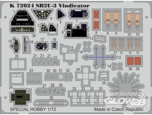 MPM SB2U-3 Vindicator 1:72 (K72024)