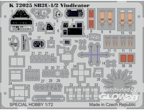 MPM SB2U-1/2 Vindicator 1:72 (K72025)
