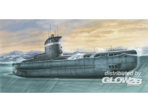 MPM Deutsches U-Boot Typ XXIII 1:72 (SN72001)