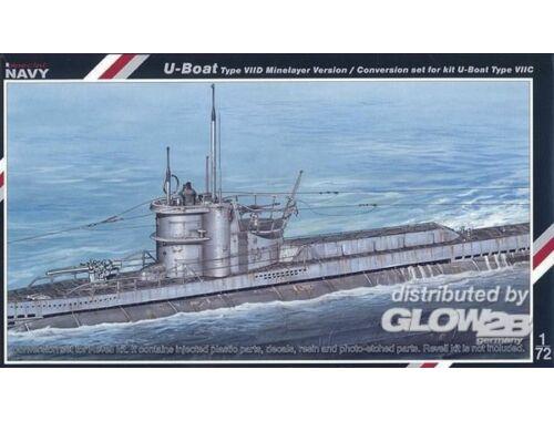 MPM U-Boot VII D conversion set Für Revell Bausatz 1:72 (SN72005)