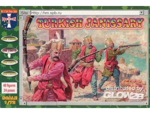 Orion Turkish janissary, 17. century 1:72 (72010)