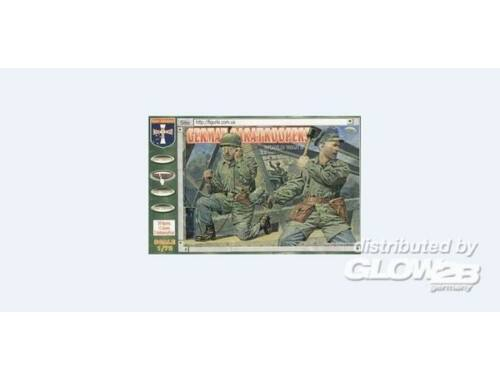 Orion WWII German paratroopers 1:72 (72018)
