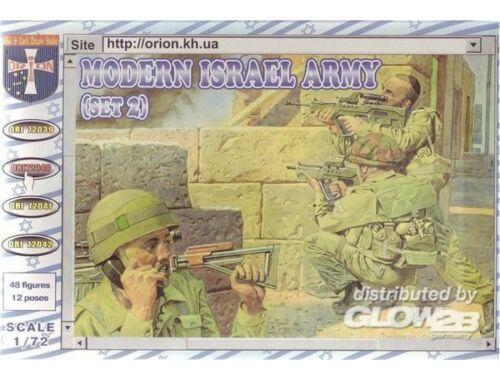 Orion Modern Army Israel (set 2) 1:72 (72040)