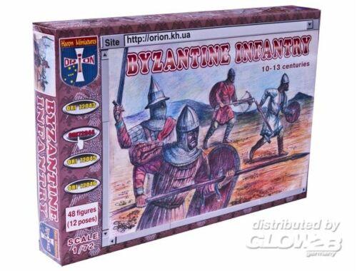Orion Byzantine infantry X-XIII centuries 1:72 (72044)