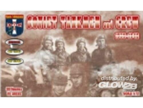 Orion Soviet tankmen and crew, 1939-1942 1:72 (72046)