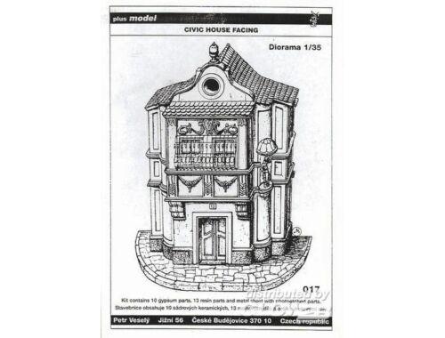 Plus Model Altes Stadthaus Keine Ruine !!! 1:35 (017)